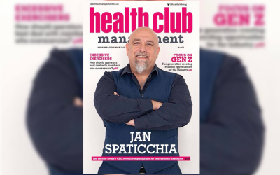 énergie Is Front Page News in Health Club Management