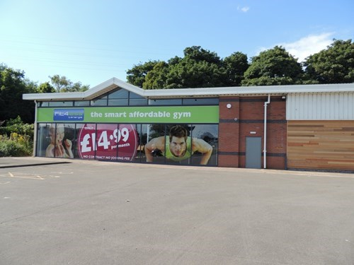 Fit4less Scunthorpe: From Derelict Former Car Showroom to Thriving Fitness Facility
