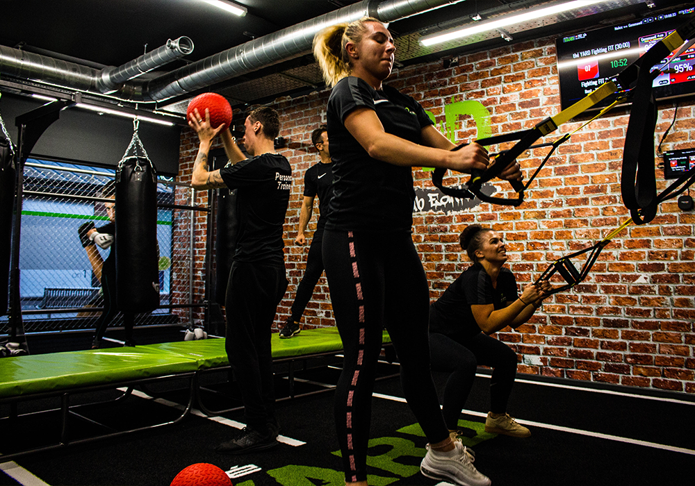 énergie Fitness Lights Up Southend-on-Sea