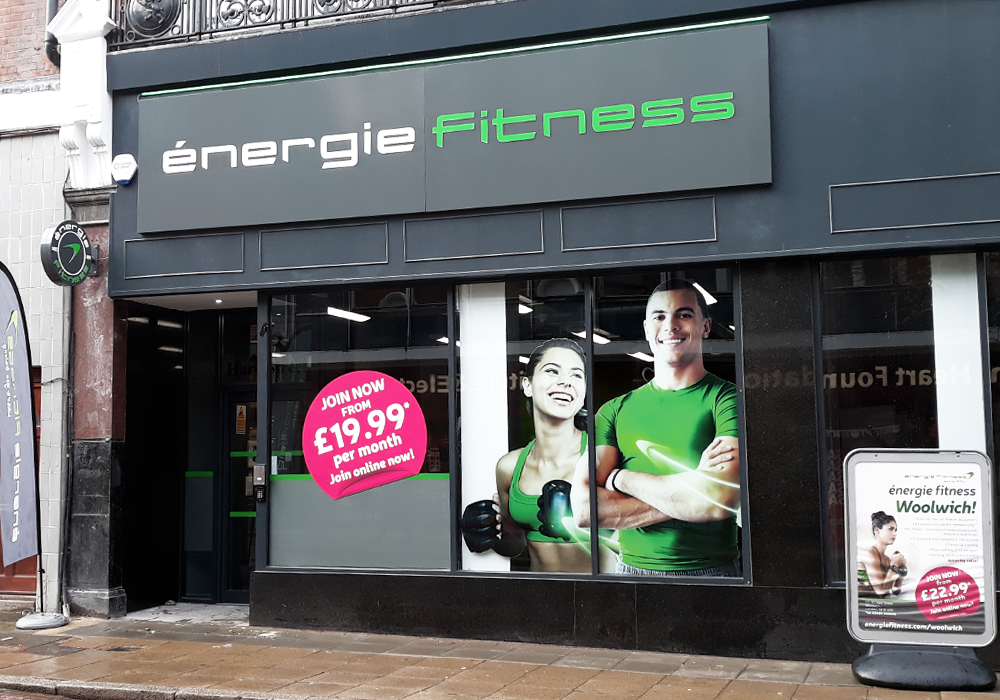 énergie Fitness Opens in Woolwich