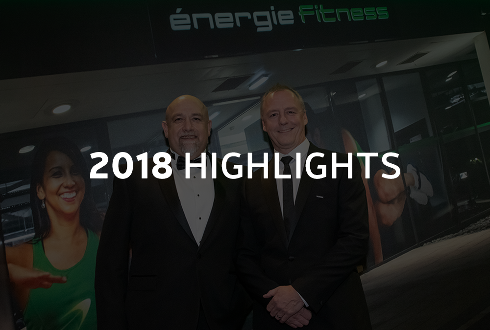énergie's 2018 Highlights