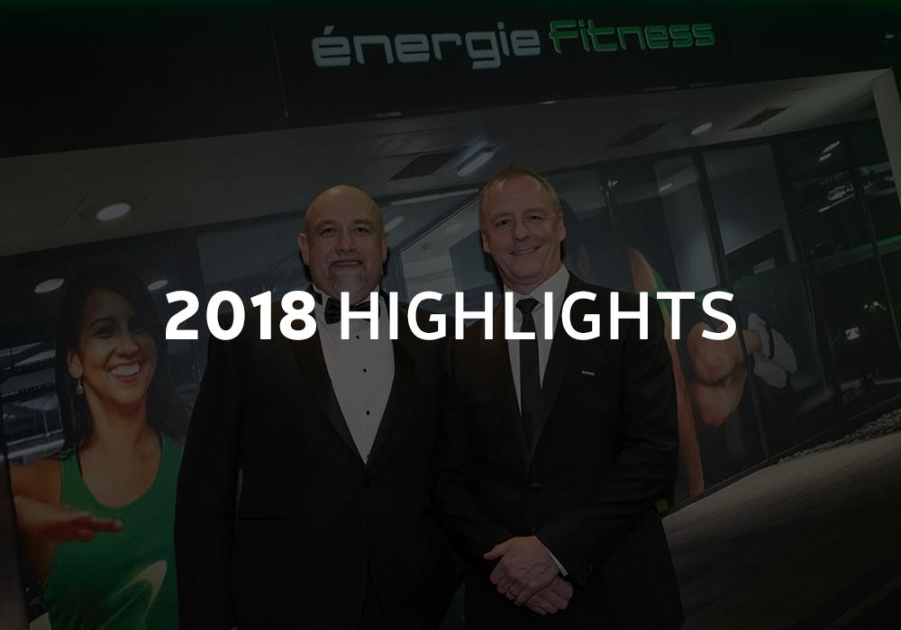 énergie's 2018 Highlights