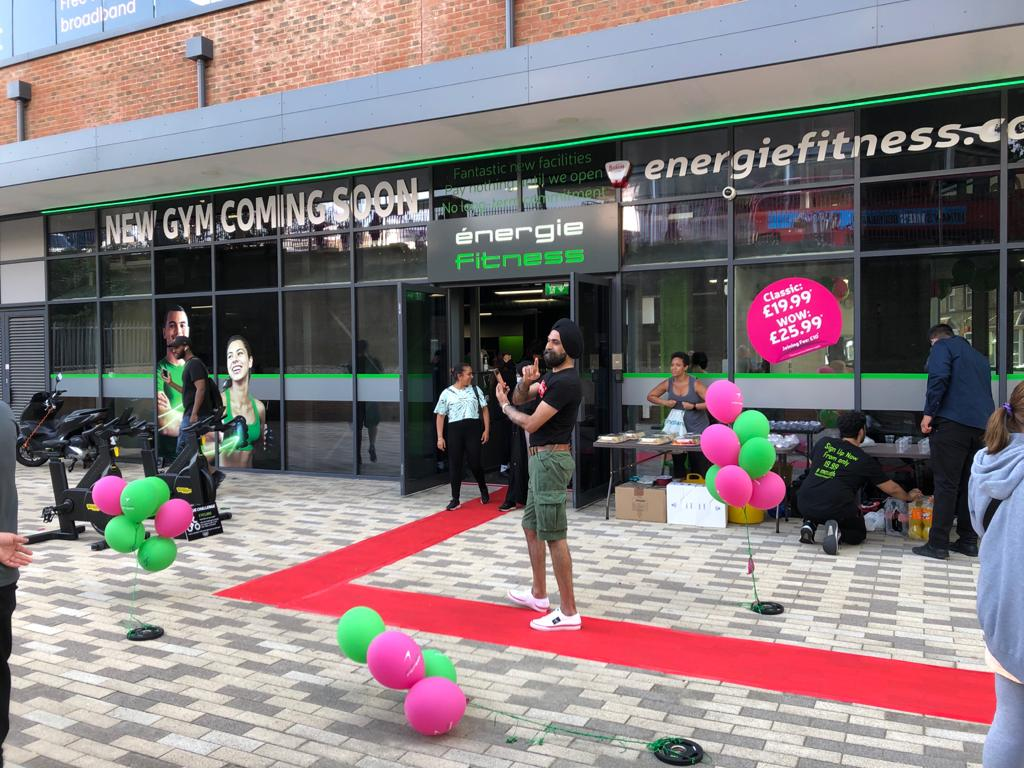 énergie Fitness Hayes opening party
